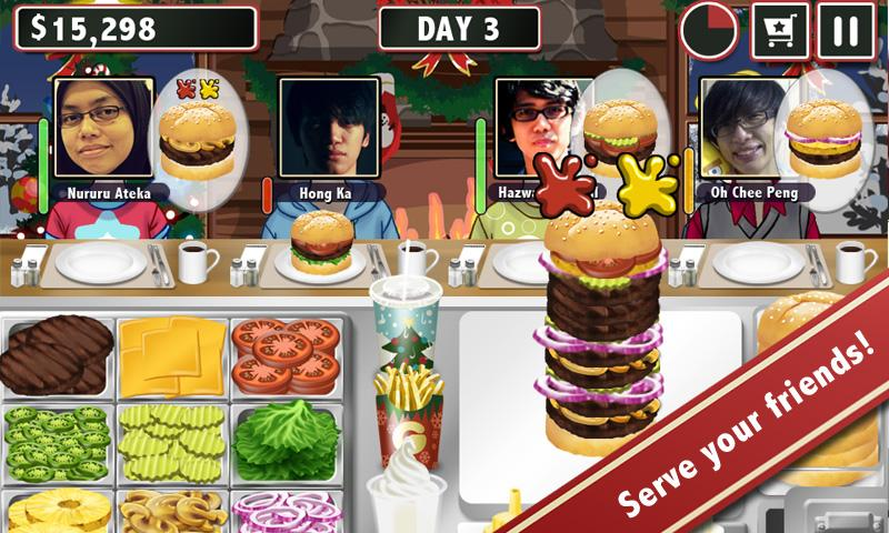 Burger Friends - Stand Maker - screenshot