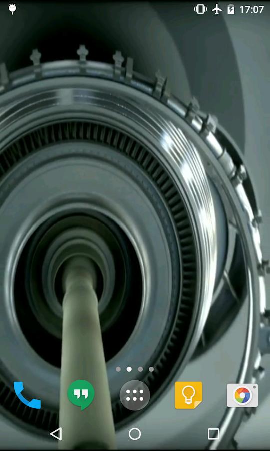 Aircraft Engine Wallpaper Aircraft Engine Live Wallpaper