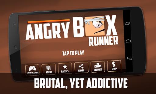 Angry Box Runner