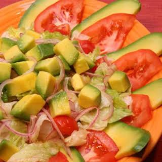 Avocado Salad.