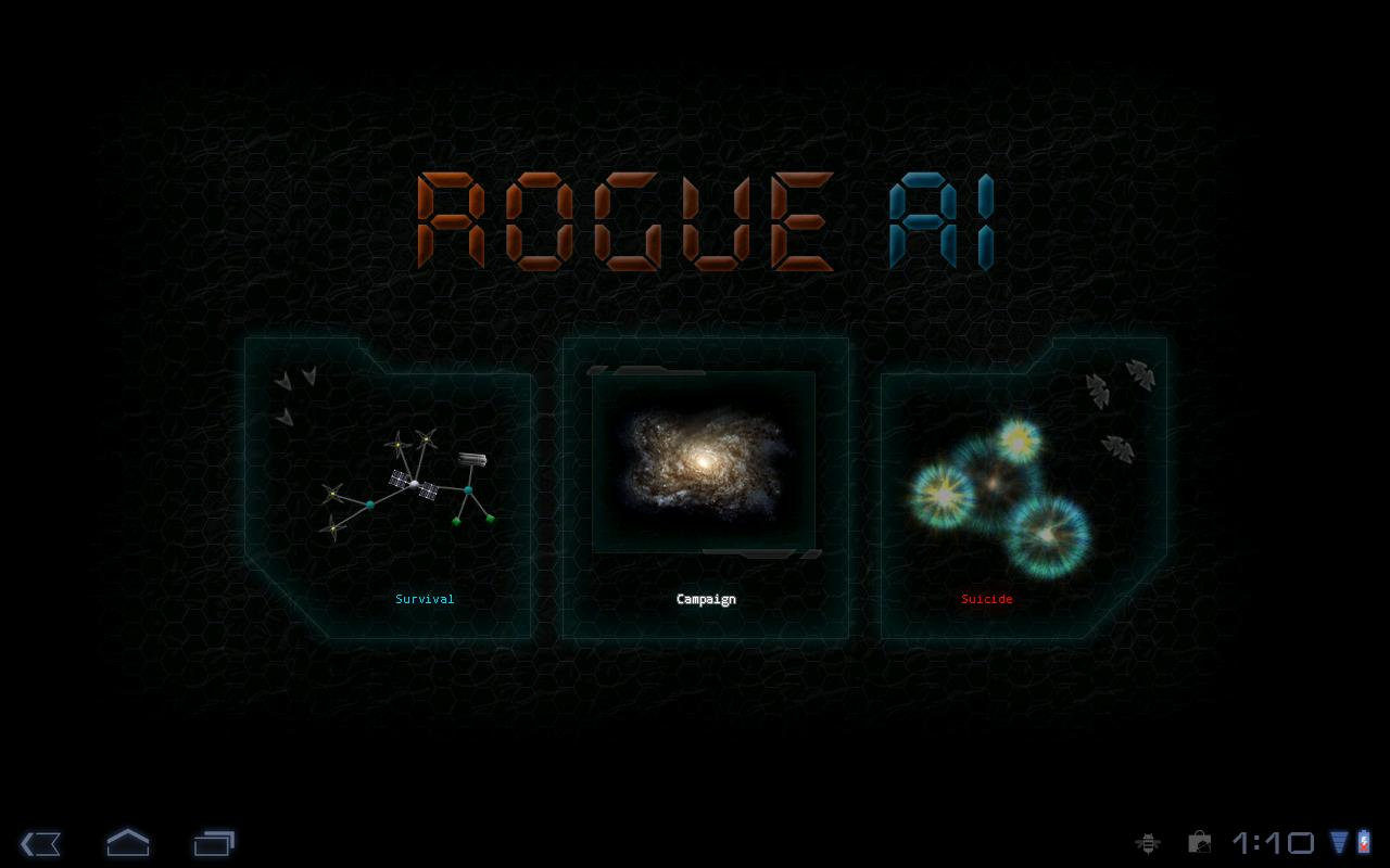 Rogue AI - screenshot