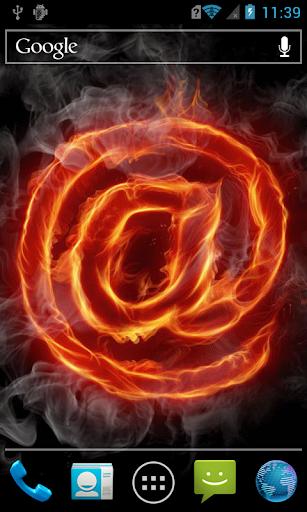 Fiery symbol LWP