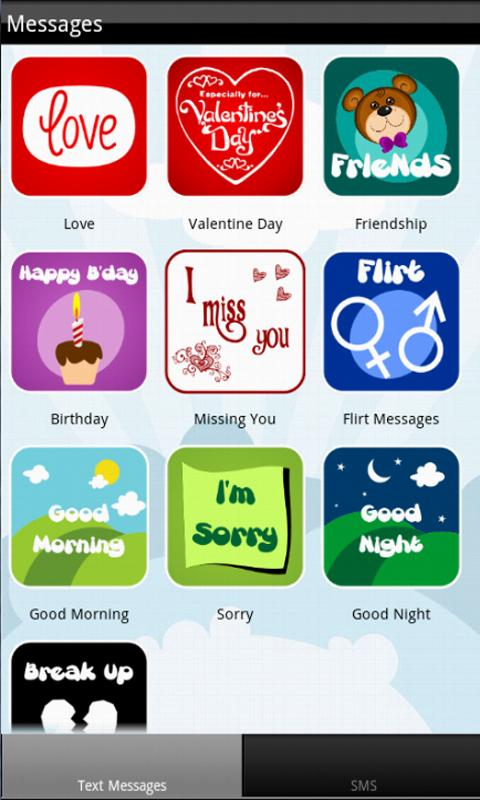 Text Messages - screenshot