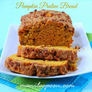 Pumpkin Praline Bread