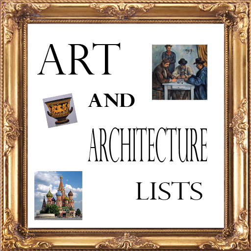 Art and Architecture Lists