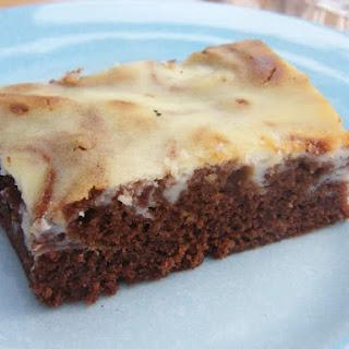 Katie's Cheesecake Brownies.