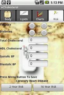 eCholesterol Pro - screenshot thumbnail