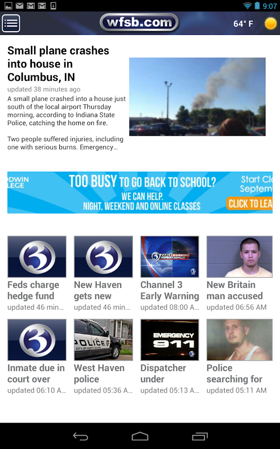 WFSB 3 - screenshot