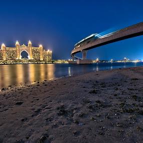 ATLANTIS Blue Hour by Vic Pacursa - Buildings & Architecture Office Buildings & Hotels