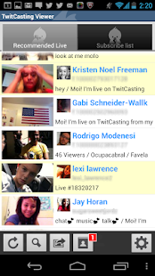 TwitCasting Viewer - (Free) - screenshot thumbnail
