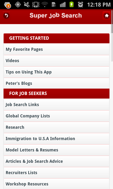 Super Job Search- screenshot