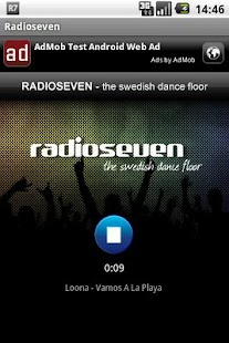 Radioseven- screenshot thumbnail