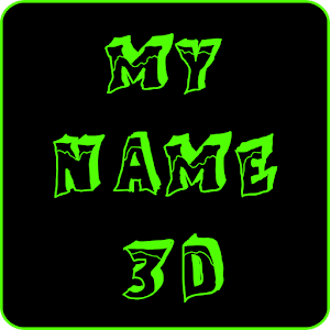 Free Apk android  MyName 3D Live Wallpaper 1.0  free updated on