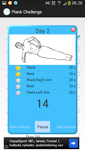 Plank Challenge Screenshot