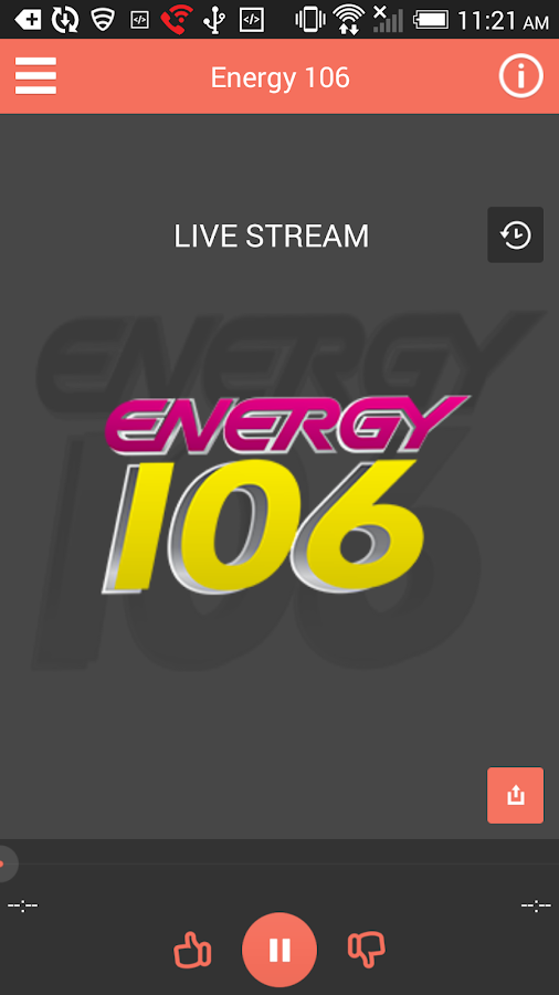 Energy 106- screenshot