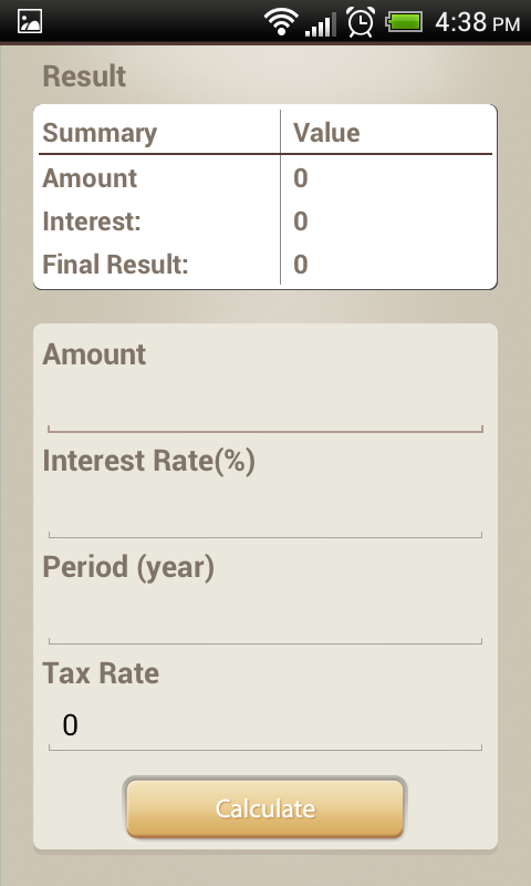 My Calc - Finance Calculator- screenshot