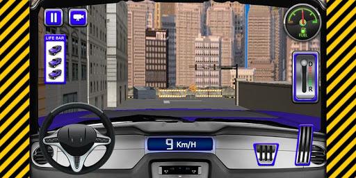 SUV 悍马停车 3D
