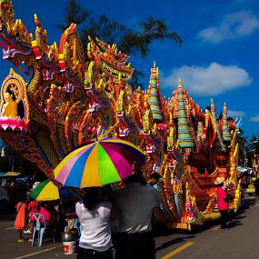 Thai thanksgiving festival by Akiro Mahilom - Public Holidays Thanksgiving