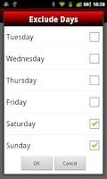 Screenshot of Days To Go (Free)