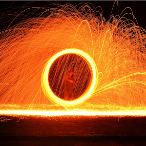 by Gilang Franasia - Abstract Fire & Fireworks