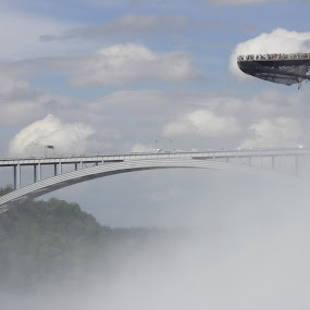 The bridge across Niagara by Bharath Iyer - Buildings & Architecture Bridges & Suspended Structures