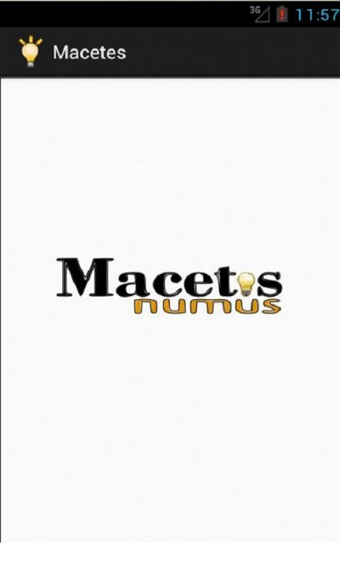 Macetes- screenshot