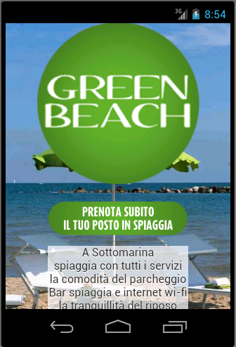 Green Beach Sottomarina