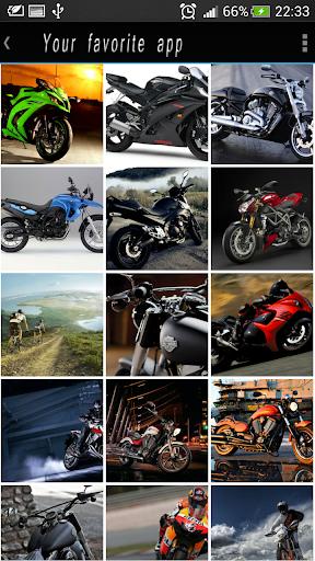 摩托車高清壁紙
