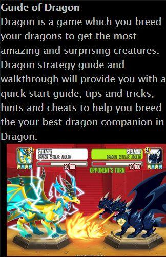 Guide of Dragon