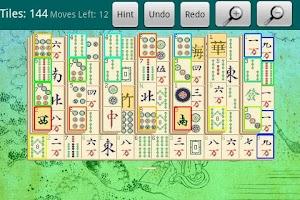 Screenshot of Mahjong Classic Free