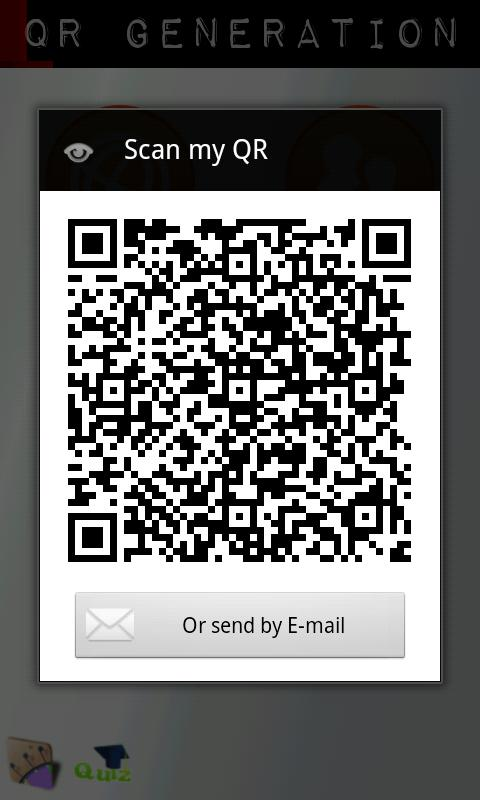 QR code Generation - screenshot