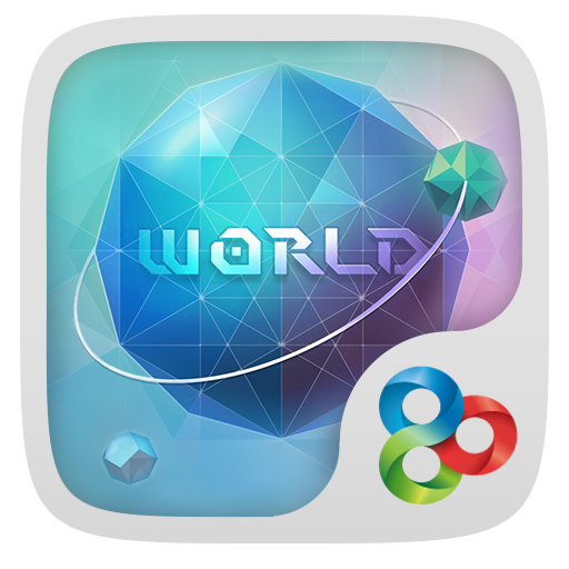 World GO Launcher Theme LOGO-APP點子