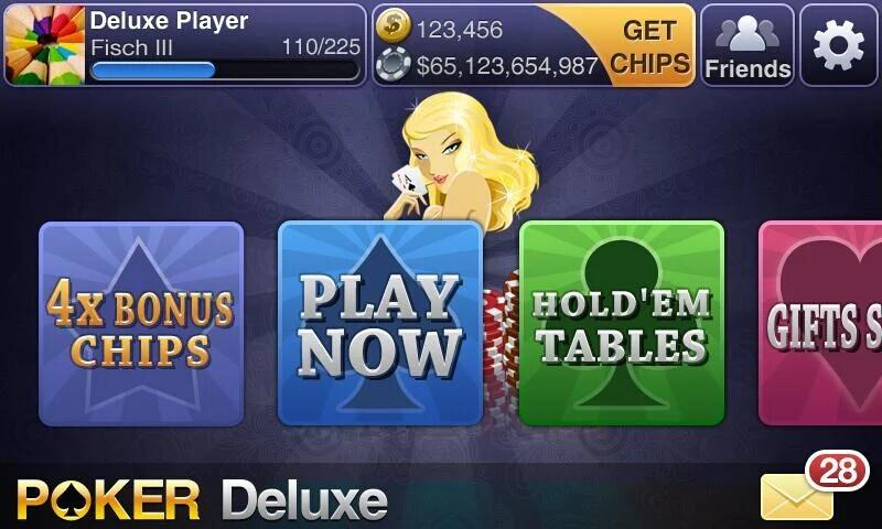 Texas HoldEm Poker Deluxe - screenshot