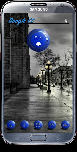 Blue Globes