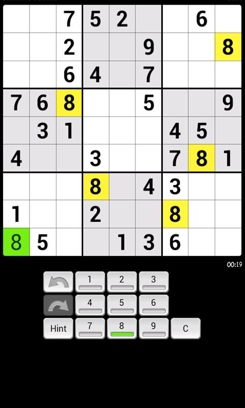 Sudoku Challenge - screenshot
