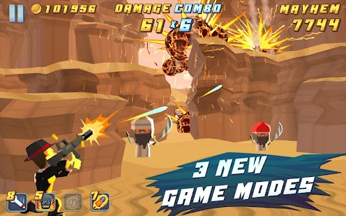 Major Mayhem V1.1.1 Fully Unlocked & Unlimited Money