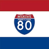 i80 Interstate-80 PA Exits