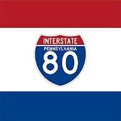 i80 Interstate-80 PA Exits