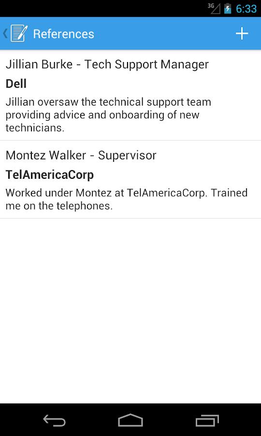 Resume Builder Pro - screenshot