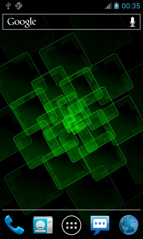 Holo Grid Pro Live Wallpaper - screenshot