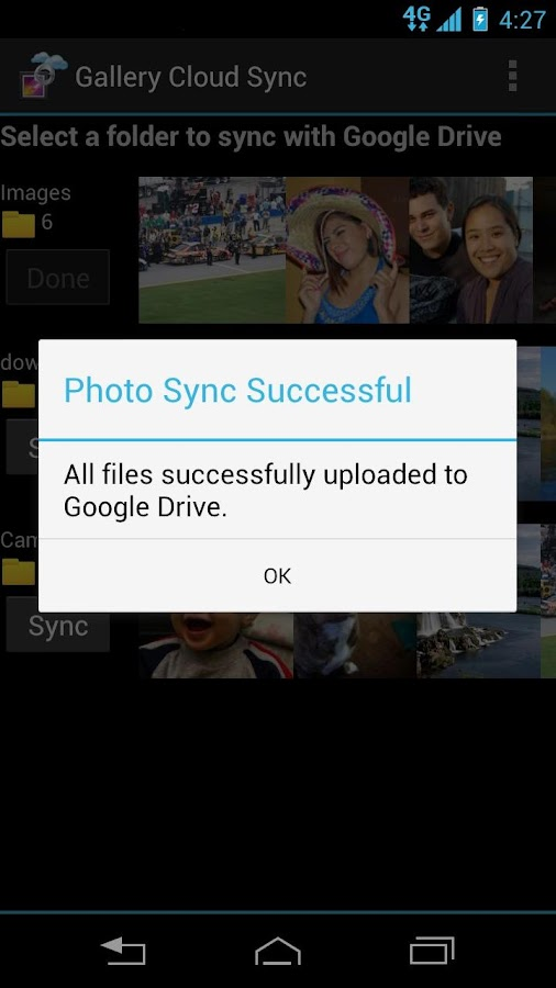 Gallery Drive Sync - screenshot