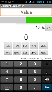 Market Discount Calculator- screenshot thumbnail