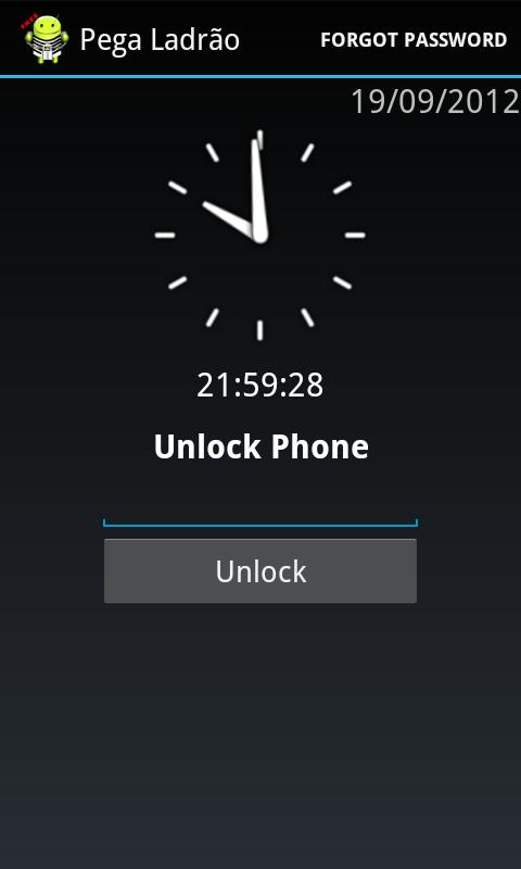 Alarm Anti Theft Screen Lock- screenshot