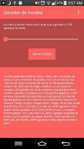 Gerador de Goiaba