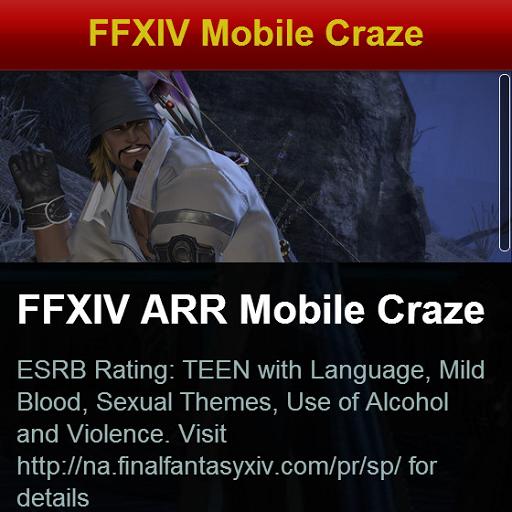FFXIV ARR Mobile Craze