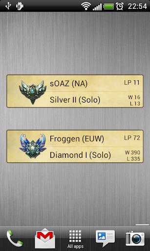 玩娛樂App LoL Ranking League of Legends免費 APP試玩