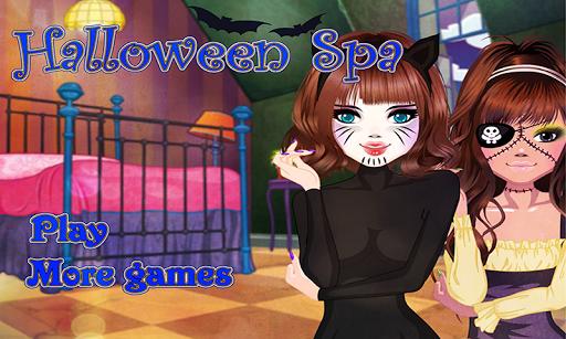Halloween Spa – Make up games