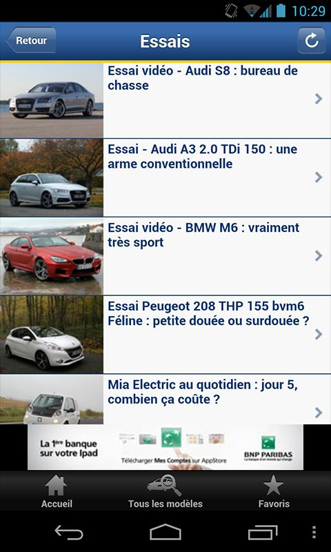 Caradisiac Auto - screenshot