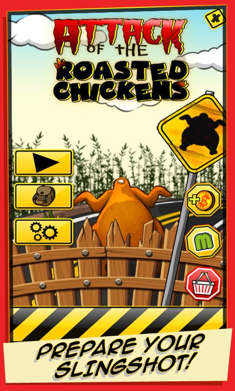 Attack of the Roasted Chickens- screenshot