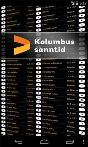 Kolumbus Sanntid